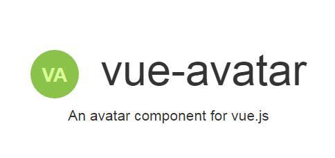 An avatar component for vue js