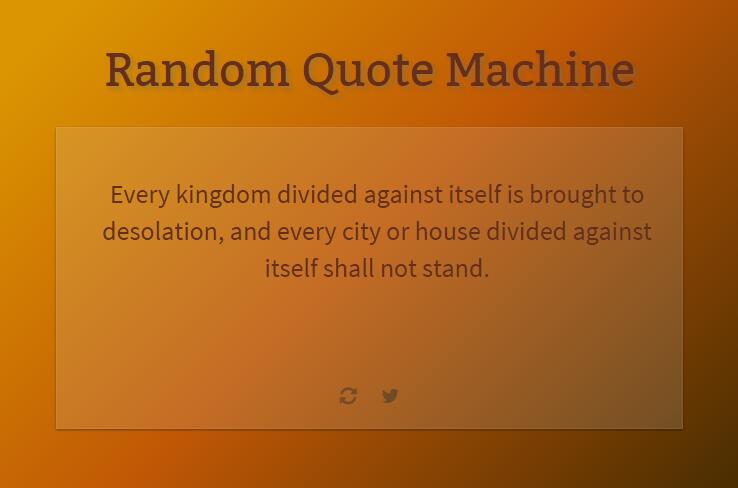 Random Quote Machine with Vue.js