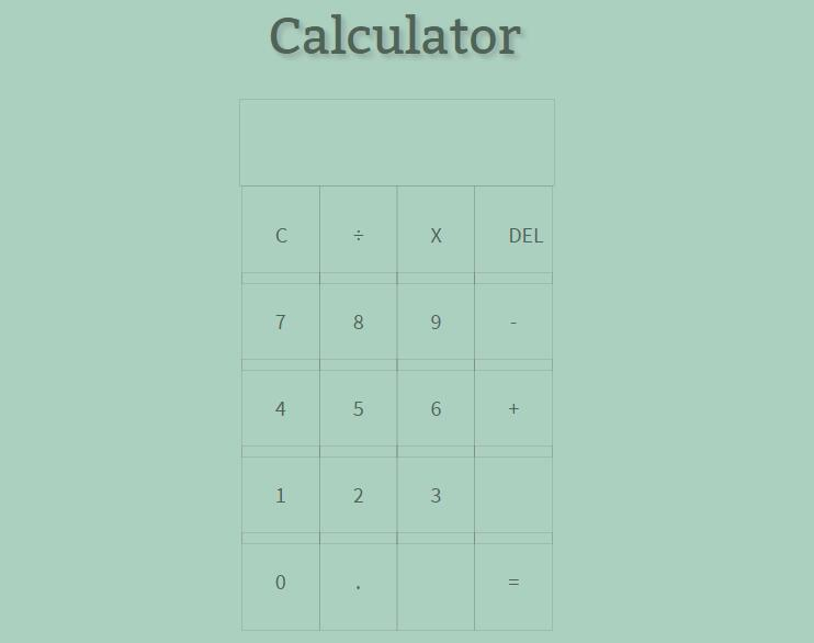 JavaScript Calculator with Vue.js