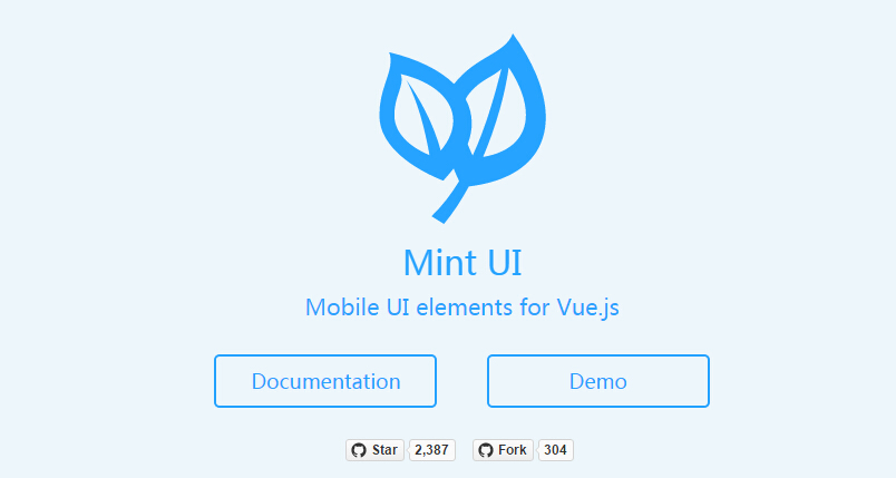 Mobile UI elements for Vue.js