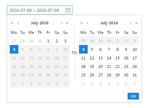 A Beautiful Datepicker Component For Vue.js