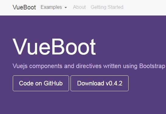VueBoot : Vuejs components and directives written using Bootstrap