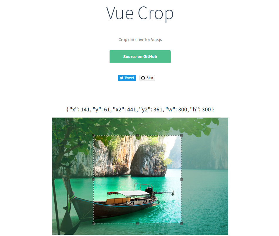 Crop directive for Vue.js