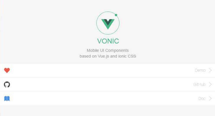 Mobile UI Components, based on Vue.js and ionic CSS