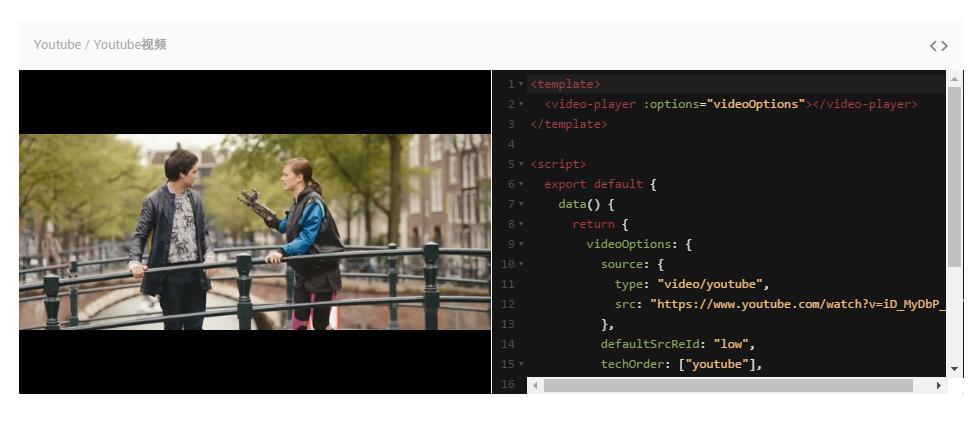 VIDEO PLAYER COMPONENT FOR VUE.JS