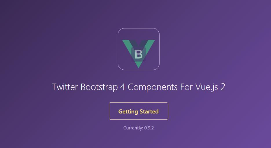 Twitter Bootstrap 4 Components For Vue.js 2