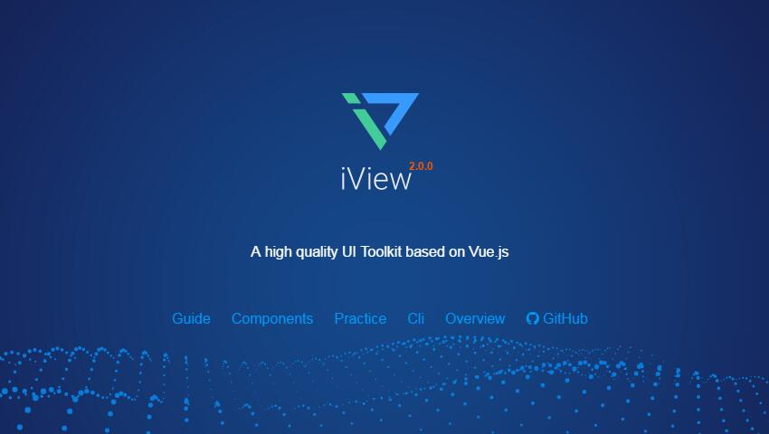 iview : A high quality UI Toolkit based on Vue.js
