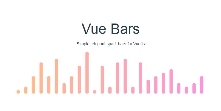 Simple and elegant spark bars for Vue.js