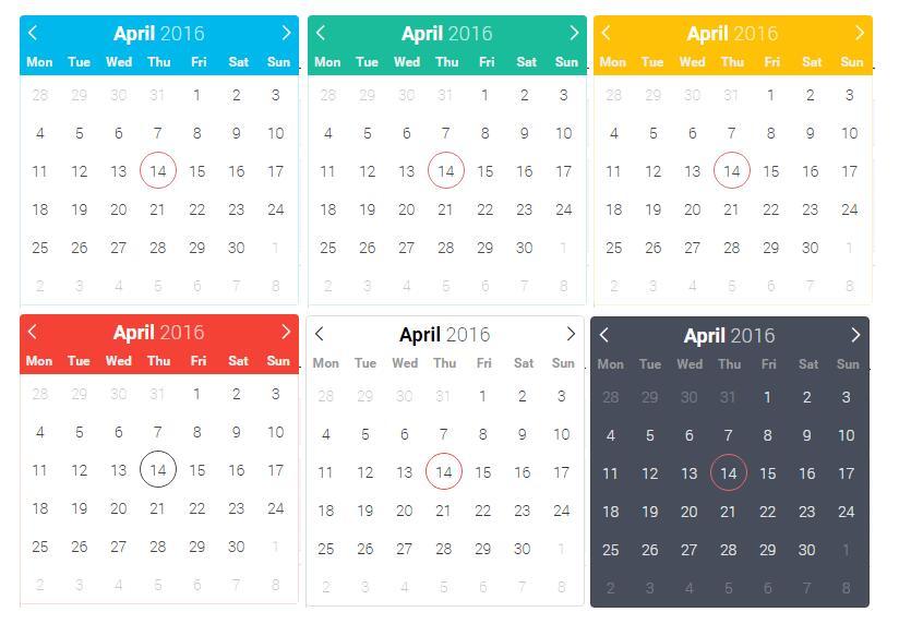 Vue js v2 x component for Flatpickr date-time picker