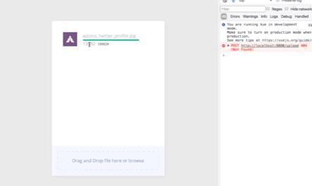 Simple and hackable file uploader for Vue 2