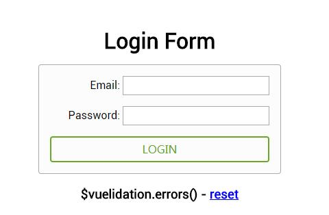 A Simple and powerful vuejs validation