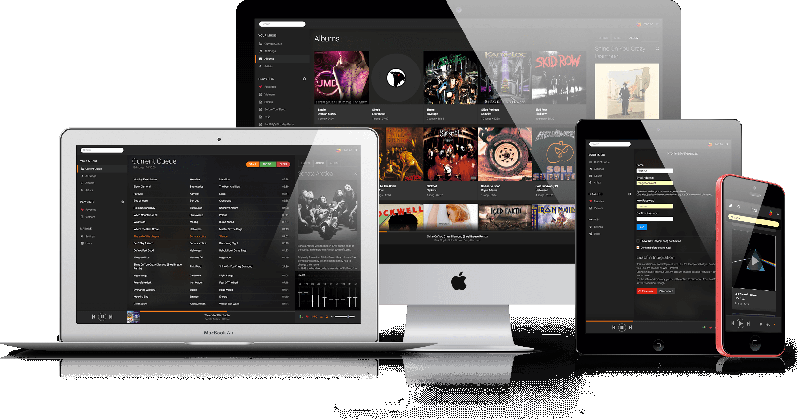 A personal music streaming server that works