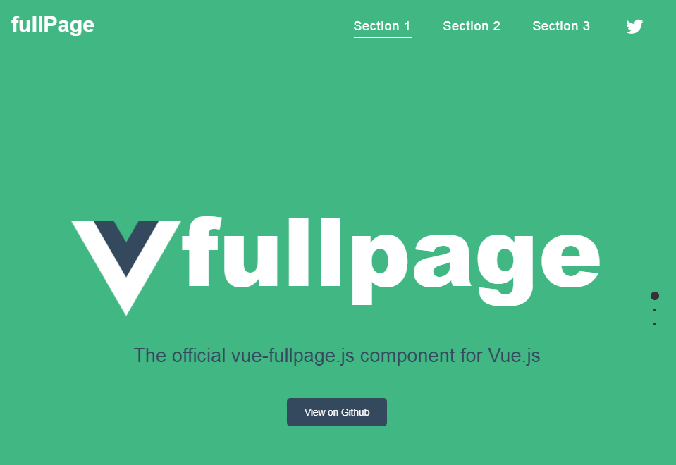 Official Vue js wrapper for fullPage js-Codespots com