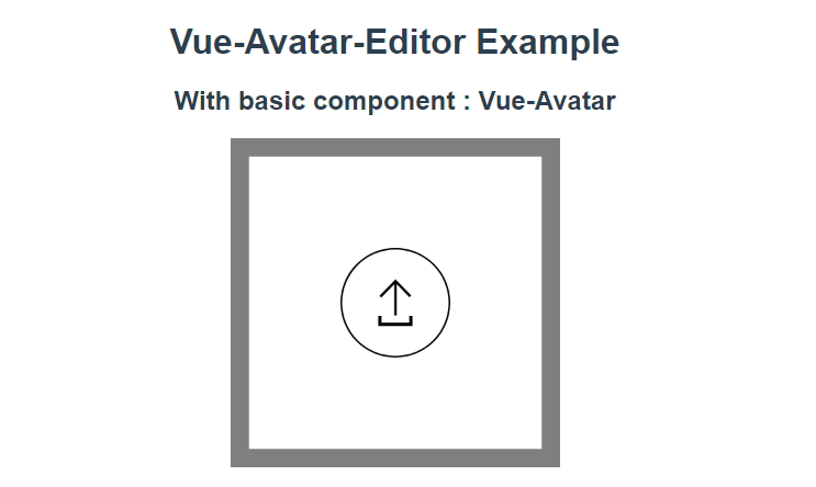 A Facebook like avatar picture component for Vue js