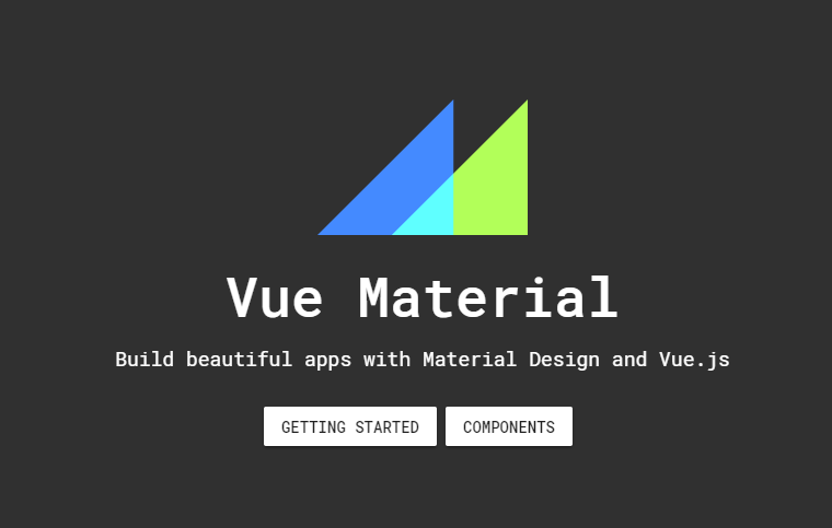 A Simple and lightweight Material design UI for Vue.js