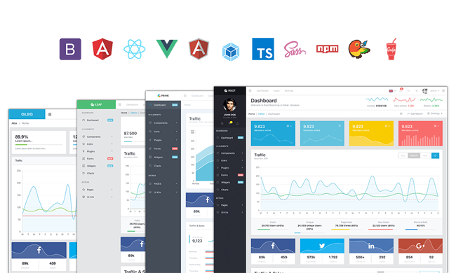 A free Vue admin template based on Bootstrap 4