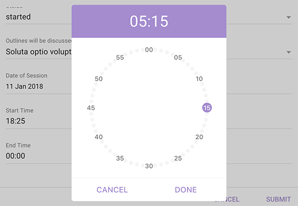 Vue2-Clock-Pickerv