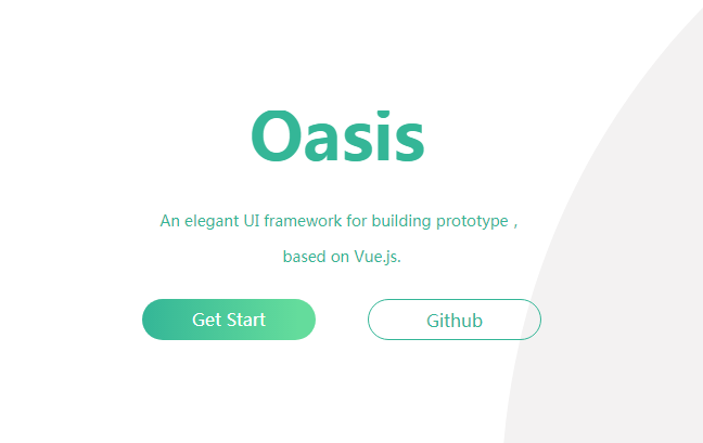 An elegant UI framework for building prototype