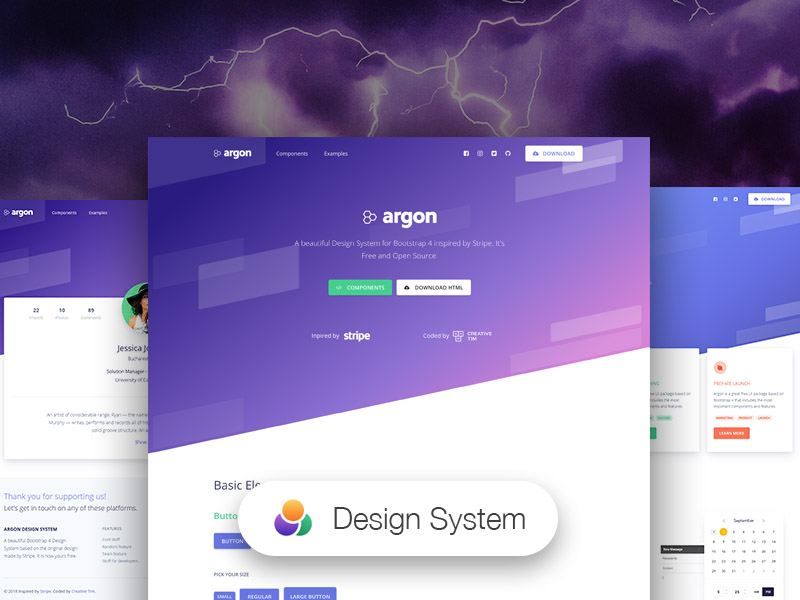 Start your development with a Design System for Bootstrap 4