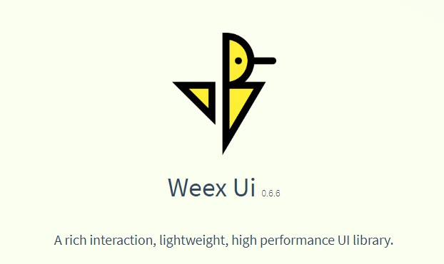 A rich interaction and high performance UI library based on Weex