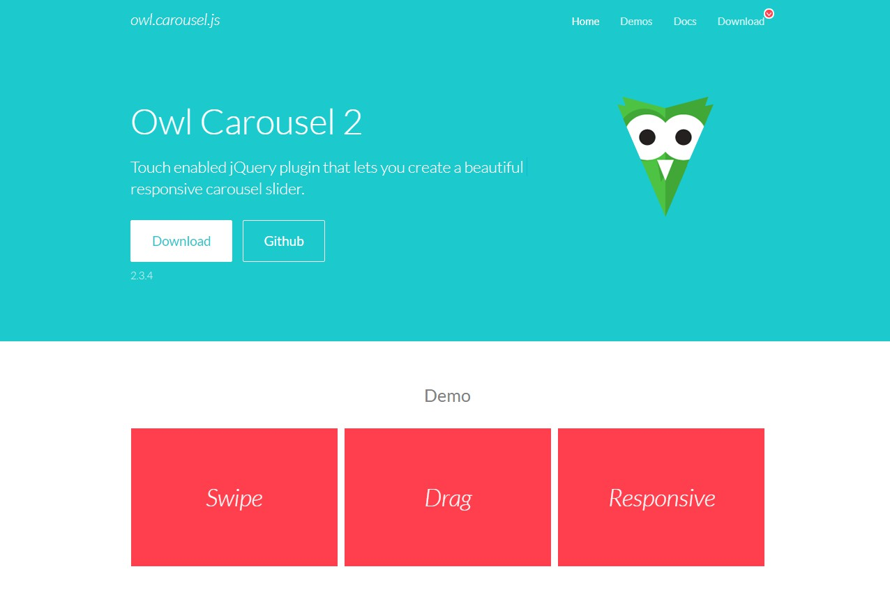 Vue component for Owl Carousel 2