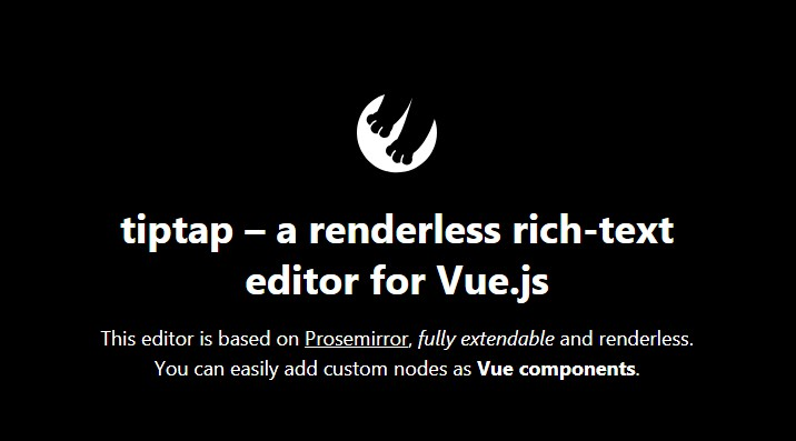 A renderless and extendable rich-text editor for Vue js