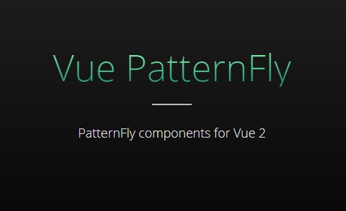 PatternFly components for Vue 2