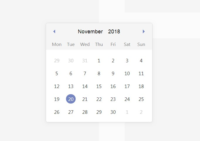 Lightweight and mobile friendly date time picker with Vue
