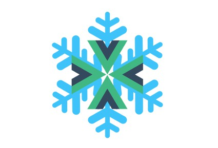 Single File Vue Component for lazy snow storms generation