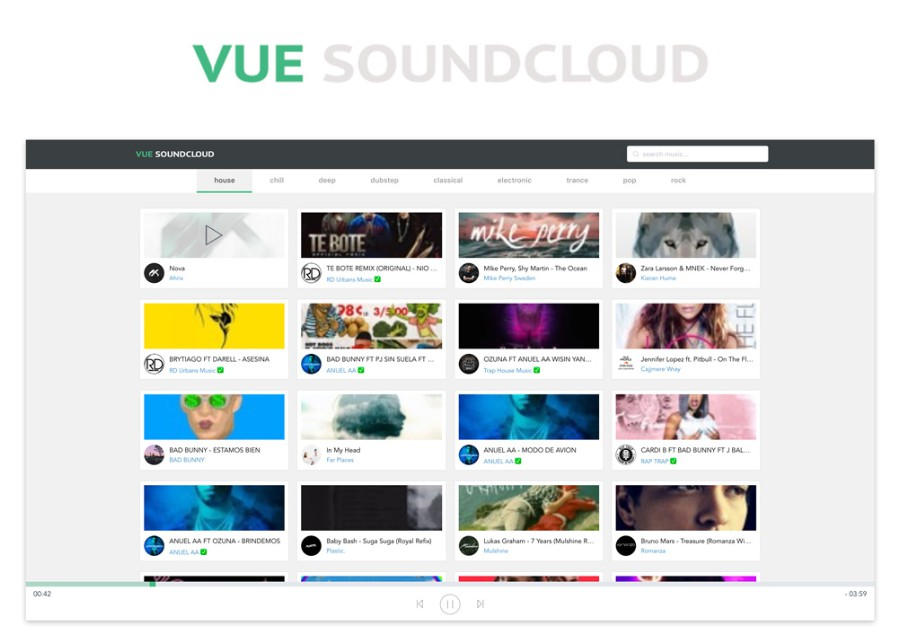 A Soundcloud client built with Vue.js 2