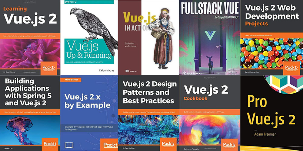 Top 10 Vue JS Books You Should Read