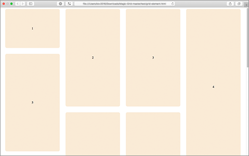 A lightweight Javascript library for dynamic grid layouts