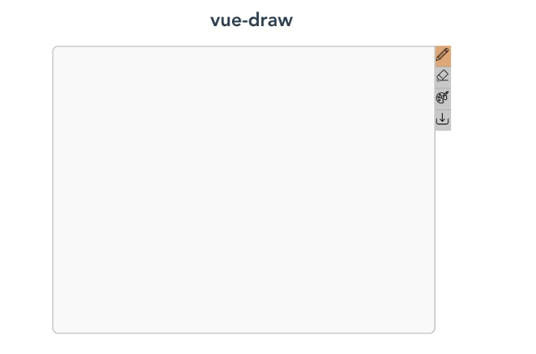 Drawing Component for VueJS