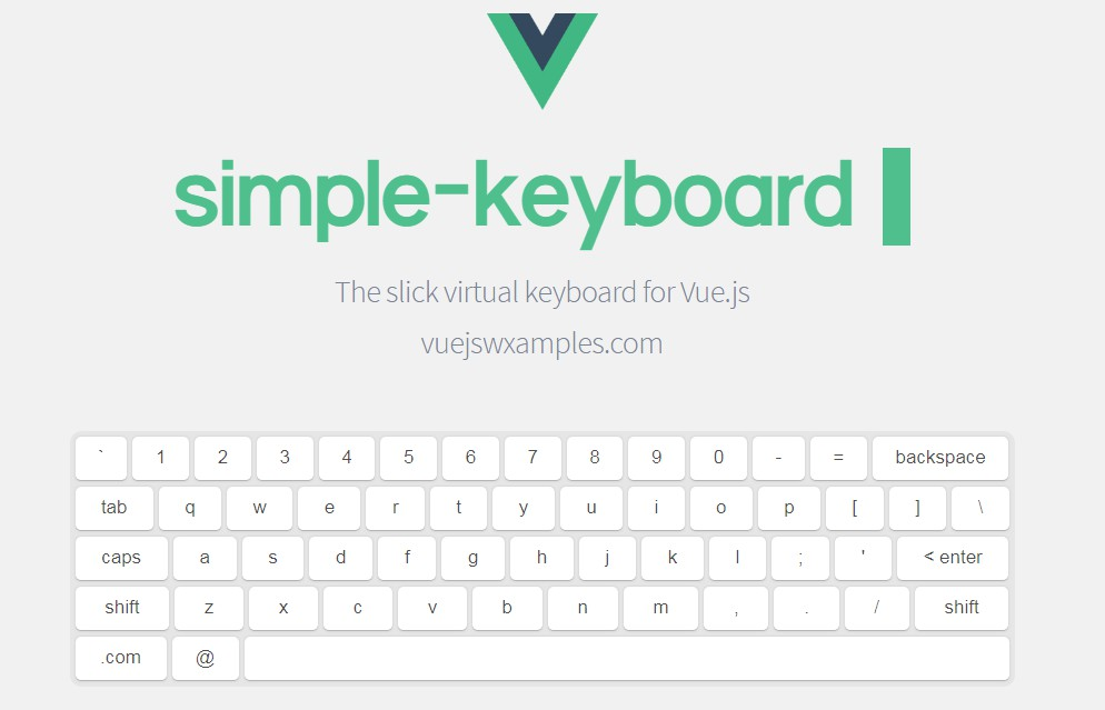 A Customizable and Responsive virtual keyboard for Vue.js
