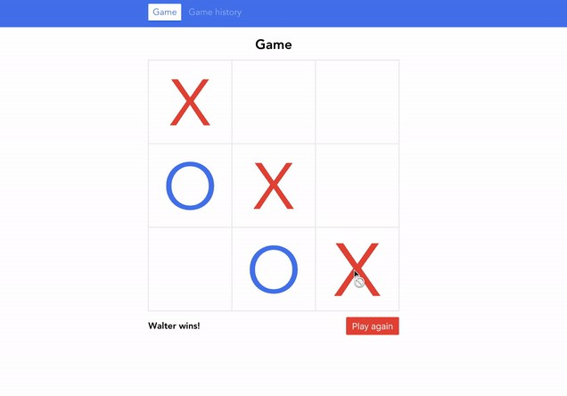 A simple Tic-Tac-Toe game written in Vue