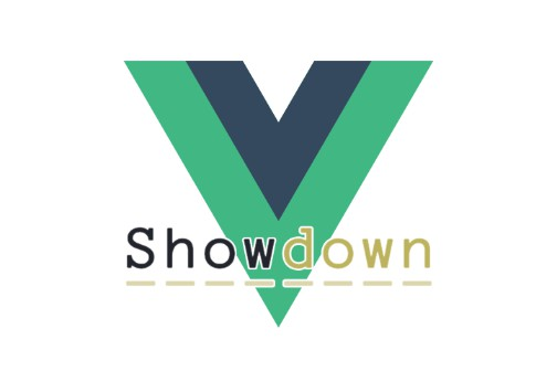 Use showdown as a vue component