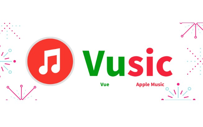 Apple Music Web Player made with VueJS
